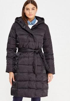 Пуховик, Sela, цвет: черный. Артикул: SE001EWURO79. Женская одежда / Верхняя одежда / Пуховики и зимние куртки