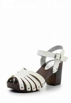 Босоножки, Topway, цвет: белый. Артикул: TO038AWTOB06. Женская обувь / Босоножки