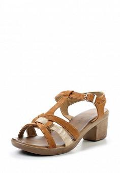 Босоножки, Topway, цвет: коричневый. Артикул: TO038AWTOB12. Женская обувь / Босоножки