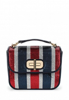 Сумка, Tommy Hilfiger, цвет: мультиколор. Артикул: TO263BWTQL33. Tommy Hilfiger