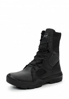 Ботинки трекинговые, Under Armour, цвет: черный. Артикул: UN001AMTVL00. Мужская обувь / Ботинки и сапоги