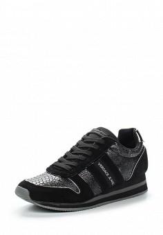 Кроссовки, Versace Jeans, цвет: черный. Артикул: VE006AWUBI40. Премиум / Обувь / Кроссовки и кеды