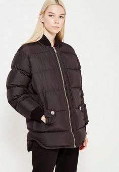 Пуховик, Versus Versace, цвет: черный. Артикул: VE027EWTCG86. Премиум / Одежда / Верхняя одежда / Пуховики и зимние куртки