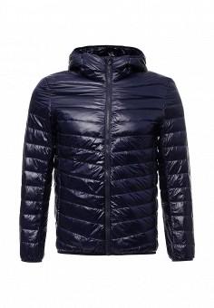 Пуховик, Vitario, цвет: синий. Артикул: VI056EMXFA32. Мужская одежда / Верхняя одежда / Пуховики и зимние куртки