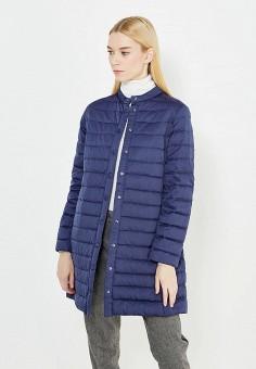 Пуховик, Weekend Max Mara, цвет: синий. Артикул: WE017EWTMH82. Премиум / Одежда / Верхняя одежда / Пуховики и зимние куртки