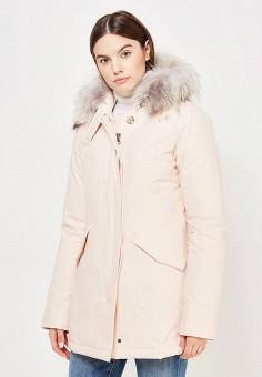 Пуховик, Woolrich, цвет: розовый. Артикул: WO256EWUPH59. Премиум / Одежда / Верхняя одежда / Пуховики и зимние куртки