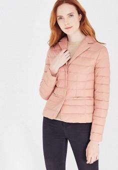 Пуховик, Zarina, цвет: розовый. Артикул: ZA004EWUOO66. Женская одежда / Верхняя одежда / Пуховики и зимние куртки