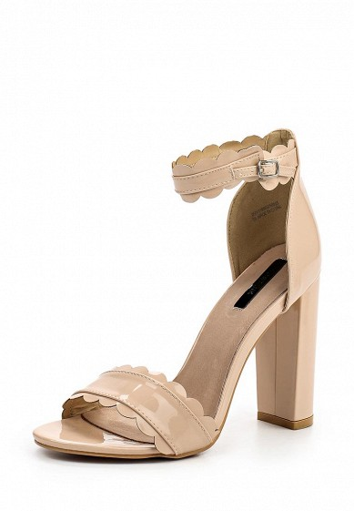 Босоножки LOST INK MALI SCALLOPED BLOCK HEELED SANDAL