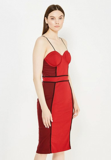 Платье LOST INK PETA COLOUR BLOCK STRAPPY BODYCON