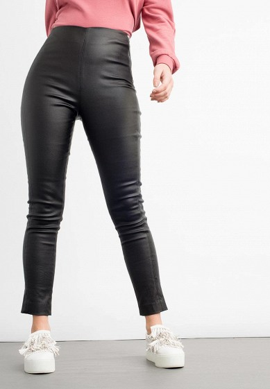 Брюки LOST INK PANELLED COATED TROUSER